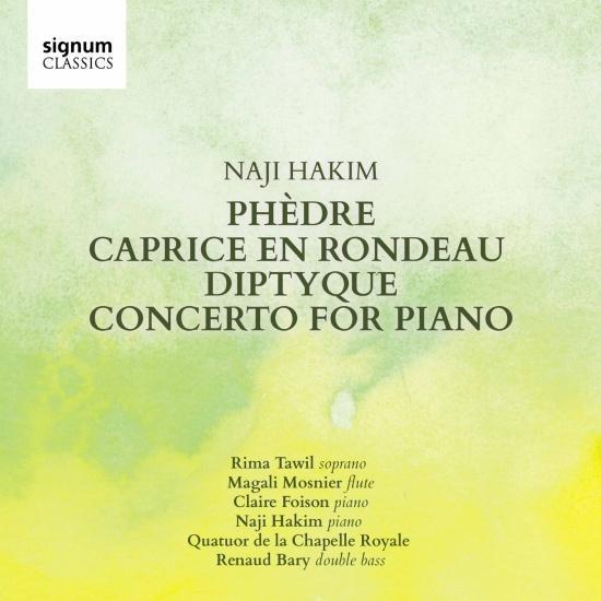 Cover Hakim: Phèdre - Caprice en Rondeau - Diptyque - Piano Concerto