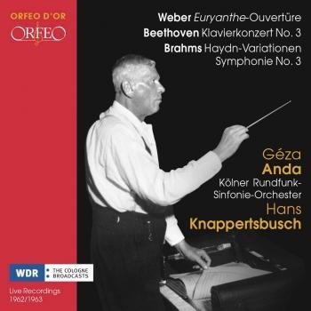 Cover Weber, Beethoven & Brahms: Orchestral Works (Live - Remastered)