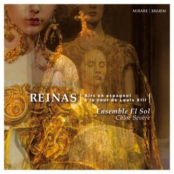 Cover Reinas, Airs en espagnol à la cour de Louis XIII