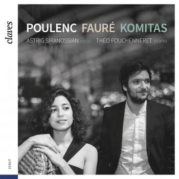 Cover Poulenc, Fauré & Komitas