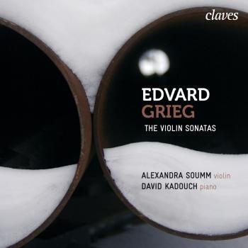 Cover Grieg: The Violin Sonatas, Op. 8, Op. 13 & Op. 45