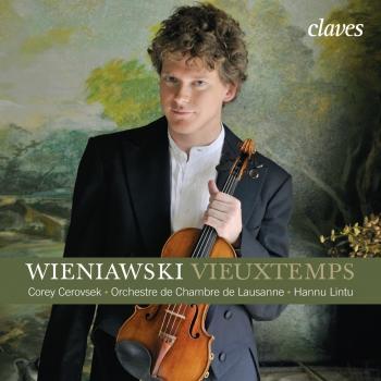 Cover Vieuxtemps: Violin Concerto No. 5, Op. 37 - Wieniawski: Violin Concerto No. 2, Op. 22