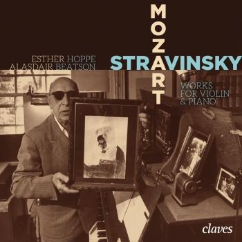 Cover Mozart & Stravinsky: Works for Violin & Piano