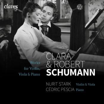 Cover Schumann: Works for Violon / Viola & Piano