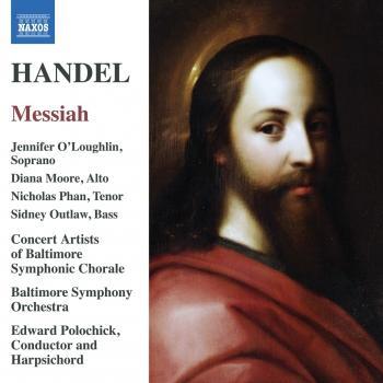 Cover Handel: Messiah, HWV 56 (Ed. W. Shaw)