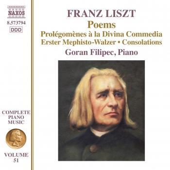 Cover Liszt: Poems