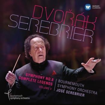 Cover Dvorák: Symphony No. 8 & 10 Legends