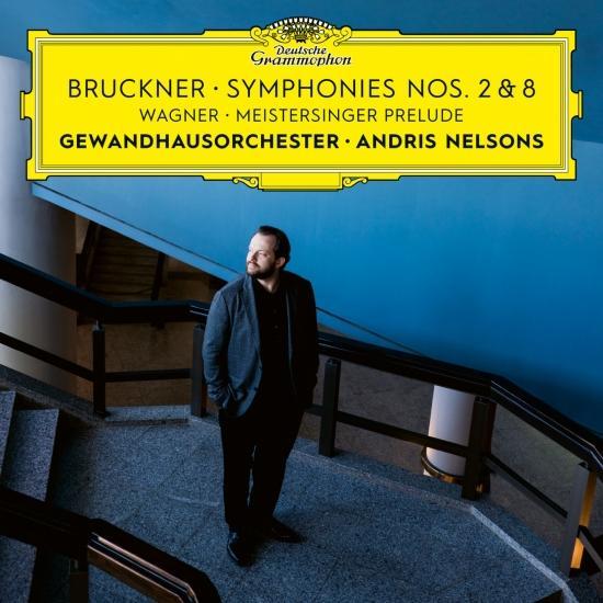 Cover Wagner: Meistersinger Prelude / Bruckner: Symphonies Nos. 2 & 8