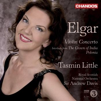 Cover Edward Elgar: Violin Concerto