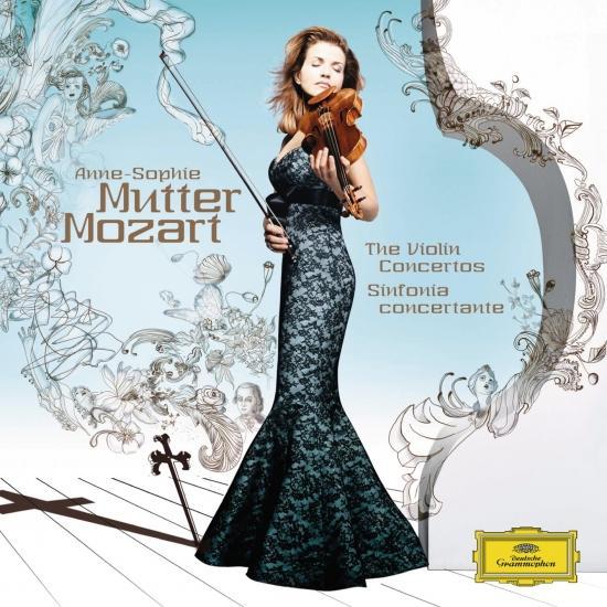 Cover Mozart, W.A.: Violin Concertos No.1-5 / Sinfonia Concertante