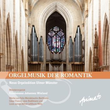 Cover Orgelmusik der Romantik