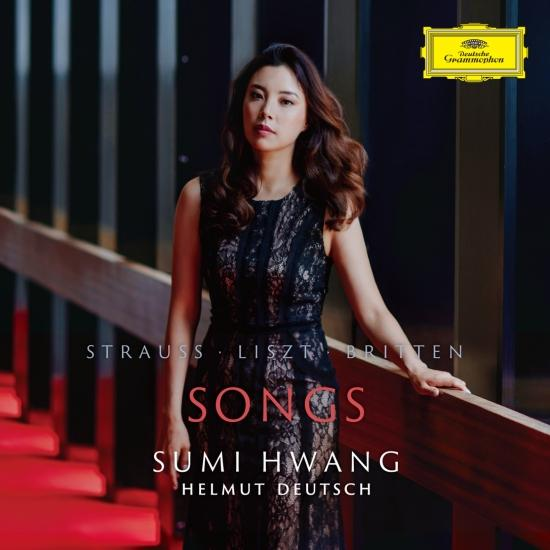 Cover Strauss, Liszt, Britten: Songs