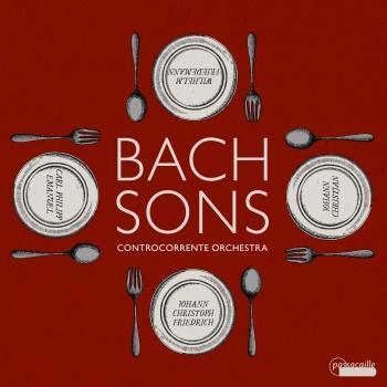 Cover Bach Sons - Symphonies by J. C. Bach, J. C. F. Bach, W. F. Bach & C. P. E. Bach