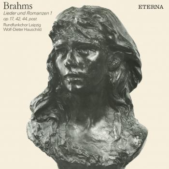 Cover Brahms: Lieder und Romanzen I (Remastered)
