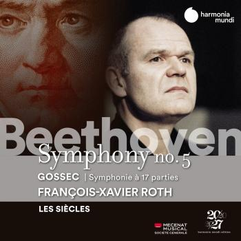 Cover Beethoven: Symphony No. 5 - Gossec: Symphonie à dix-sept parties