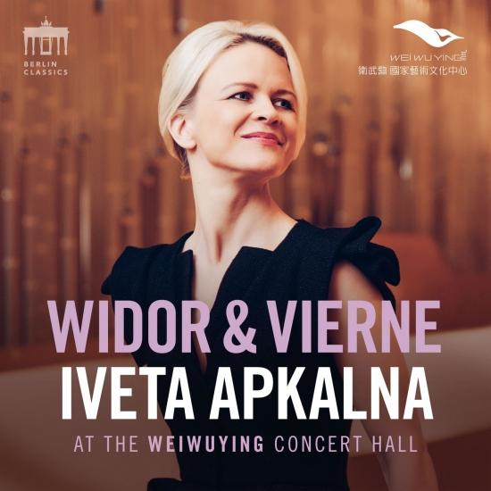 Cover Widor & Vierne (Iveta Apkalna at the Weiwuying Concert Hall)