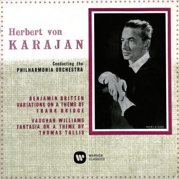 Cover Britten: Variations on a Theme of Frank Bridge - Vaughan Williams: Fantasia on a Theme by Thomas Tallis