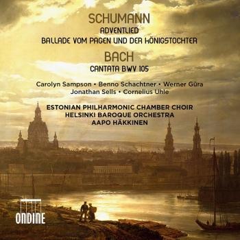 Cover Schumann: Adventlied, Op. 71 & Vom Pagen und der Königstochter, Op. 140 - Bach: Cantata, BWV 105