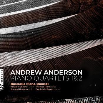 Cover Andrew Anderson: Piano Quartets
