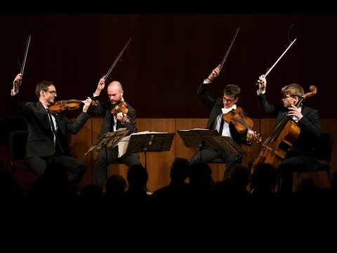 Video Calder Quartet - Beethoven Hillborg