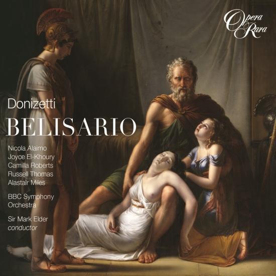 Cover Donizetti: Belisario