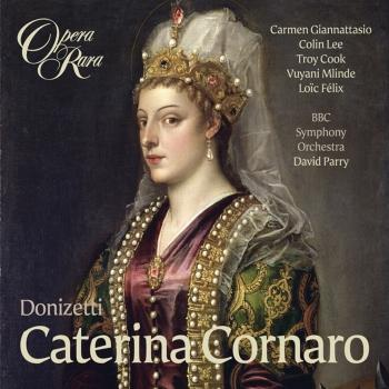Cover Donizetti: Caterina Cornaro