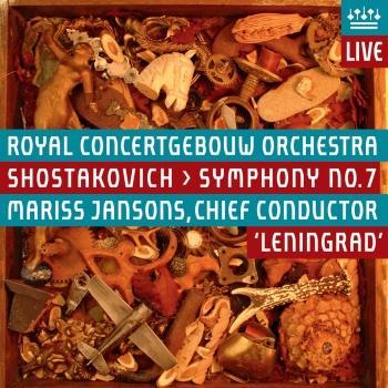 Cover Shostakovich: Symphony No. 7, Leningrad (Live)