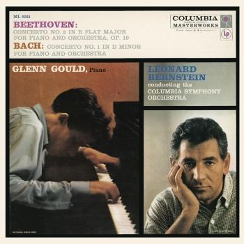 Cover Beethoven: Piano Concerto No. 2 in B-Flat Major, Op. 19 / Bach: Keyboard Concerto No. 1 in D Minor, BWV 1052 (Remastered)