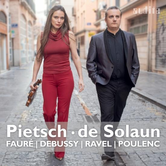 Cover Fantasque - French Violin Sonatas by Fauré, Debussy, Ravel & Poulenc