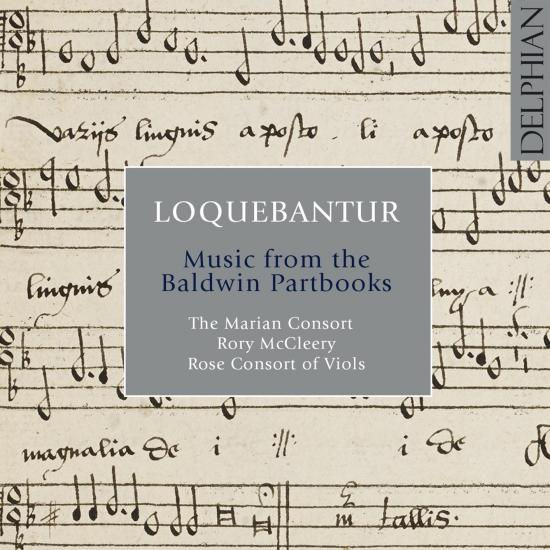 Cover Loquebantur: Music from the Dow Partbooks