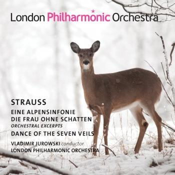 Cover Strauss: Eine Alpensinfonie, Dance of the Seven Veils from Salomé & Die Frau ohne Schatten