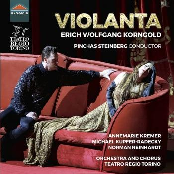 Cover Korngold: Violanta, Op. 8 (Live)