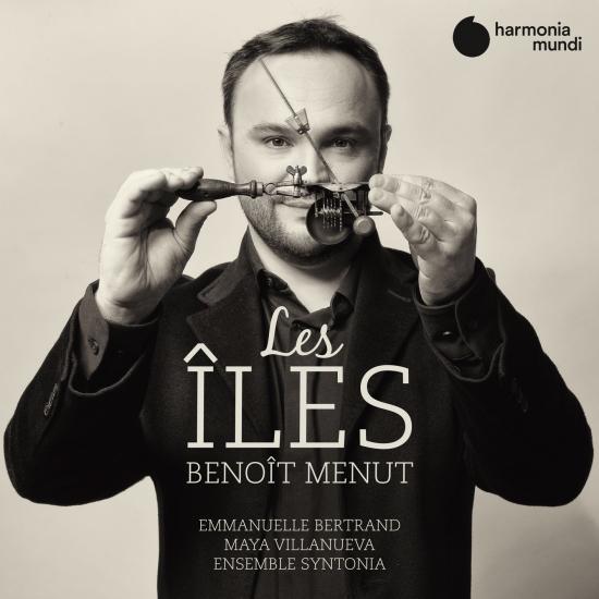 Cover Benoît Menut: Les Îles
