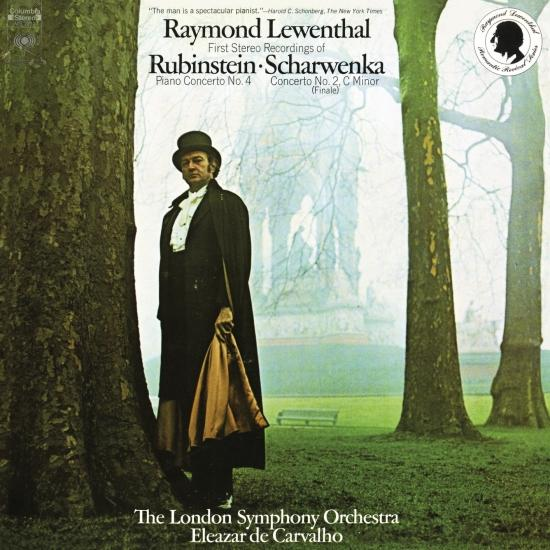 Cover Rubinstein: Piano Concerto No. 4, Op. 70 - Scharwenka: Finale to Piano Concerto No. 2, Op. 56