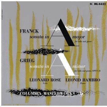 Cover Franck: Cello Sonata in A Major, FWV 8 & Grieg: Cello Sonata in A Minor, Op. 36 (Remastered)