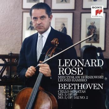 Cover Beethoven: Cello Sonata No. 3 & 5 (Remastered)