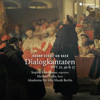 Cover Bach: Dialogkantaten, BWV 32, 49 & 57