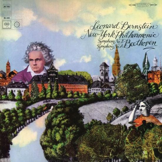 Cover Beethoven: Symphony No. 2 in D Major, Op. 36 & Symphony No. 1 in C Major, Op. 21 (Remastered)