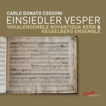 Cover Carlo Donato Cossoni: Einsiedler Vesper