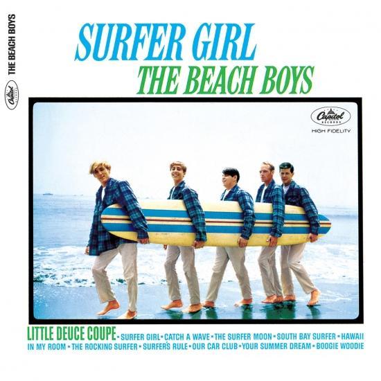 Cover Surfer Girl (Stereo)