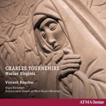 Cover Tournemire: Mariae Virginis