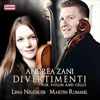 Cover Zani: Divertimenti for Violin & Cello