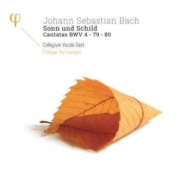 Cover Bach: Sonn und Schild, Cantatas BWV 4, 79 & 80