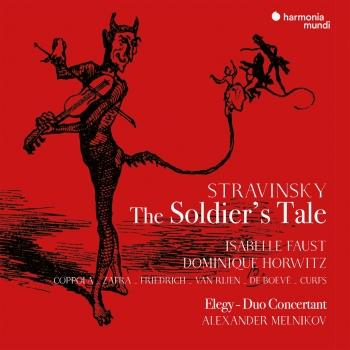Cover Stravinsky: The Soldier's Tale (English version), Élégie. Duo concertant