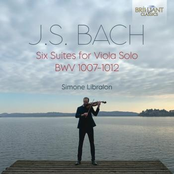 Cover J.S. Bach: Six Suites for Viola Solo BWV 1007-1012