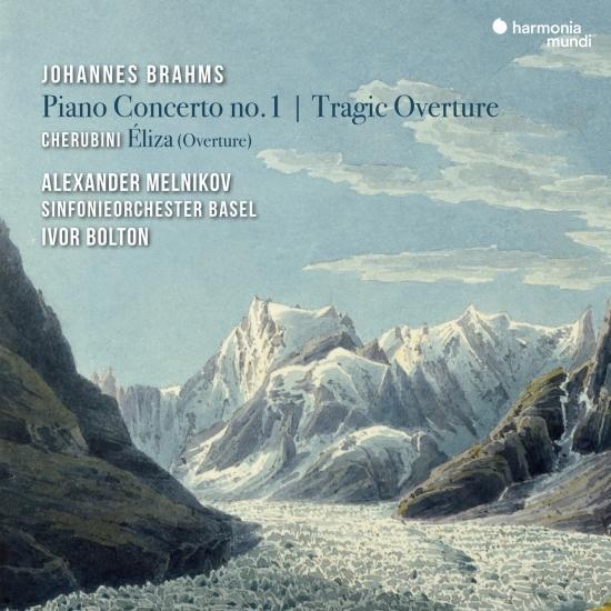 Cover Johannes Brahms: Piano Concerto No. 1 & Tragic Overture - Cherubini: Éliza (Overture)