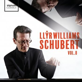 Cover Llŷr Williams: Schubert - Vol. 8