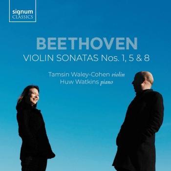 Cover Beethoven: Violin Sonatas Nos. 1, 5 & 8