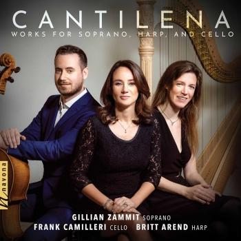 Cover Cantilena: Works for Soprano, Harp & Cello