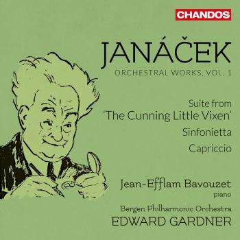 Cover Janáček: Orchestral Works, Vol. 1